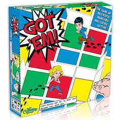 Find the secret page on Calliope Games' website (www.CalliopeGames.com) and enter to #win a copy of Got 'Em! #giveaway