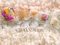 Pedicure Designs, Pedicure Nail Art, Toe Nail Designs, Toe Nail Art, Nail Art Designs Videos, Simple Nail Art Designs, Summer Toe Nails, Spring Nails, Feet Nail Design