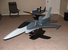 Wooden Airplane Rocker Plans