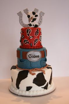 And Everything Sweet: Calen's Western Cake!