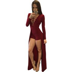 Buy New Fashion Style Sexy Design Bodycon Jumpsuit Long Sleeves Playsuit  Black Elegant Rompers Womens Jumpsuit Overalls for Women on AliExpress, ... 0199755805