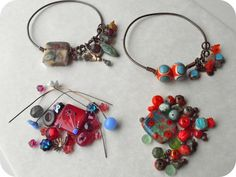 On the 5th Day of Christmas: Lampwork Bangle Free Tutorial