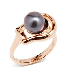 Ring FIRST Rose Gold #Misaki #jewelry #pearls #jewel #ringFirstRoseGold