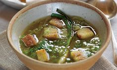 Spring Onion Soup - comes along with a host of other fab spring onion recipes from River Cottage king Hugh Fearnley-Whittingstall.