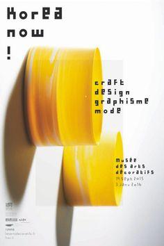 Le musée des Arts décoratifs présente l'exposition Korea Now ! : design, craft, mode et graphisme en Corée.