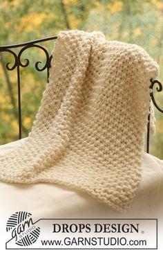 Copertina lavorata a maglia in lana coperta neonato di Lallallero