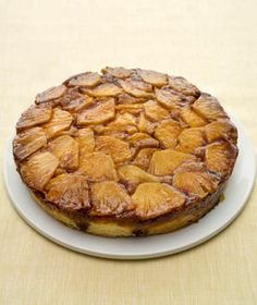 Pineapple Upside-Down Cake recipe: The pineapple pieces caramelize as they bake at the bottom of the pan, resulting in a deep, roasted, tropical sweetness.