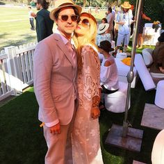 A perfect day at the #vcpoloclassic with my love