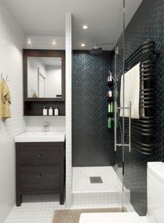 [스위트 홈 디자인] 북유럽 스타일 욕실 리모델링, 북유럽풍 욕실인테리어, 유니크한 세면대, 트렌디한세면대 : 네이버 블로그