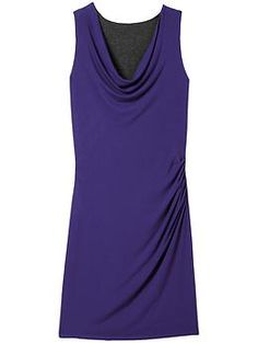 already have it in black/grey want this one too!  Inverse Drape Dress | Athleta