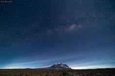 Kilimanjaro beneath the Milky-Way