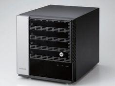 エルミタージュ秋葉原 – エレコム、処理能力が大幅向上したWindows Storage Server搭載のキューブ型NASを発売