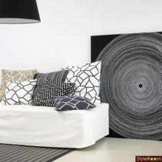 Marimekko Fabric, Scandinavia Design, Art Mural, Fabric Panels, Fabric Design, Tapestry, Curtains, Throw Pillows, Bed