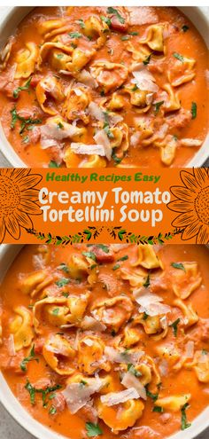 Healthy Recipes easy Cr m Tomato Tortellini S u Healthy Recipes easy Cr m Tomato Tortellini S u World of Snow lukicasnow Healthy recipes Healthy Recipes Slow Cooker Healthy Recipes nbsp hellip meal prep for picky eaters Healthy Salmon Recipes, Healthy Recipes On A Budget, Healthy Recipe Videos, Healthy Crockpot Recipes, Healthy Meals For Kids, Healthy Meal Prep, Healthy Breakfast Recipes, Vegetarian Recipes, Easy Meals