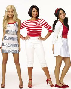 High school musical girls. Who could forget the different cliques?!!
