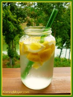 Does lemon water really help you lose weight? Read more here: http://katrinamayer.com/does-lemon-water-really-help-you-lose-weight/