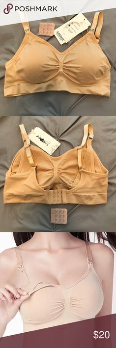 🌸 NWT Maternity/Nursing Bra Brand new with tags still attached.  Comes with a ring to convert straps to racerback, removable pads, and a hook extender piece for the band to facilitate comfort and growth 🐣. Intimates & Sleepwear Bras