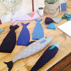 "This week we've been reminiscing about our weekend at Port Eliot Festival. It was lovely to meet so many of our customers so we wanted to share our ""How To Make A Fabric Fish"" workshop with those of you who couldn't join us! It's a great rainy day activity, something we seem to be having …"