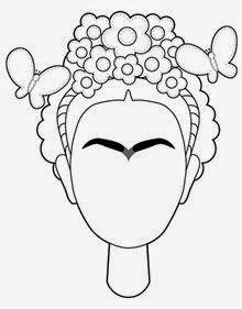 Frida Kahlo Coring Face