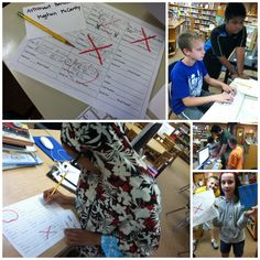This week in fourth grade we played Library Tic-Tac Toe. Our goal was to practice using the library catalog, call numbers, and find boo. School Library Lessons, Library Lesson Plans, Elementary School Library, Library Skills, Library Games, Library Science, Library Activities, Library Books, Library Inspiration