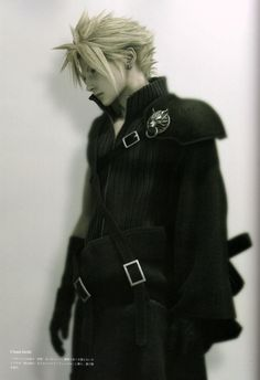 "Cloud Strife from ""Final Fantasy VII: Advent Children."""