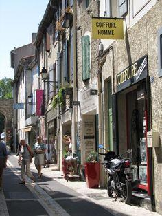 Street scene in St Remy de Provence