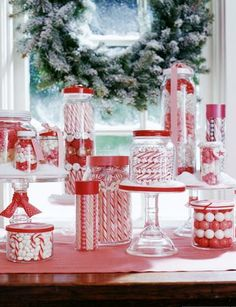 candy cane display