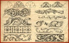 acanthus leaves leather carving - Google Search