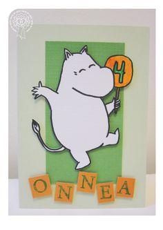 Synttärikortti / Birthday Birthday Cards, Happy Birthday, Handmade Cards, Bday Cards, Happy Brithday, Craft Cards, Urari La Multi Ani, Birthday Greetings, Happy Birthday Funny
