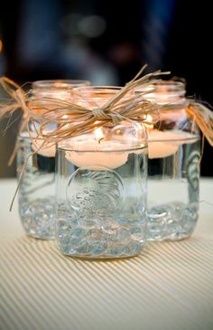 hot pink candles and paint the straw silver instead. Plus add little crystal to the bottom of the jar for a sparkle :)