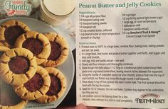 Peanut Butter and Jelly Cookie Recipe
