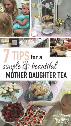 If you have a daughter, you know that the mother daughter relationship is incredibly special and deserves to be celebrated! That's why I love the idea of a mother daughter tea party, don't you? Here's how to plan a simple ladies tea party. #motherdaughtertea #motherdaughterteaparty #motherdaughterteapartyideas #motherdaughterteaideas