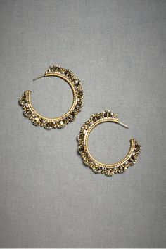 bhldn - curved composition hoops $250