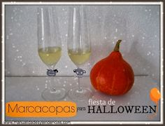 www.manualidadesytendencias.com Marca copas para fiesta Halloween / Halloween glass markers / Marqueur de verres pour Halloween #Halloweencrafts #manualidades #Halloween