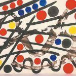 Alexander Calder, Work on Paper, 1963 Sand Crafts, Diy And Crafts, Crafts For Kids, Arts And Crafts, Alexander Calder, Mondrian, Grafic Art, Art Projects, Projects To Try