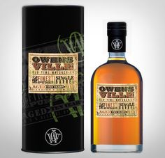 Owensville Whiskey Packaging by Clae Spratt at Coroflot.com