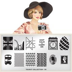 MoYou-London Nail Art Image Plate Tourist Collection 05 * This is an Amazon Affiliate link. See this great product.