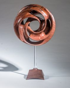 Collectors of Wood Art - Artist Portfolio Abstract Sculpture, Wood Sculpture, Abstract Art, Wooden Spoon Carving, Cnc Wood, Wood Vase, Wood Bird, Artist Portfolio, Wood Creations