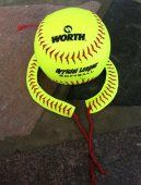 CUTE Softball Bracelet made from REAL Softballs