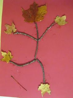 Leaf people - perfect storytime craft to pair with Lois Ehlert's Leaf Man Autumn Crafts, Fall Crafts For Kids, Autumn Art, Nature Crafts, Autumn Theme, Art For Kids, Fall Preschool, Preschool Crafts, Preschool Kindergarten
