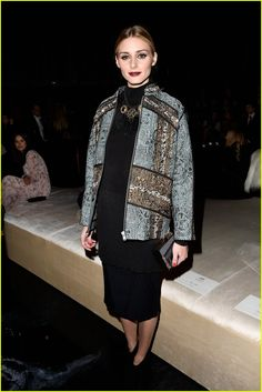 Emma Roberts & Suki Waterhouse Shimmer at H&M Fashion Week Show