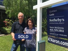 "Thank you so much to our sellers Dan and Debi Keen, who just shared these kind words: ""We wanted to sell our home (47 Aaron Dr. in Novato) as quickly as possible, yet we wanted to get the best price as well. The McGinnis Team made it happen for us. Within less than 48 hours, we had an offer well over asking price, with additional potential offers in the background. Kevin effectively represented our interests in the negotiation, resulting in a very smooth and tension-free escrow that closed…"