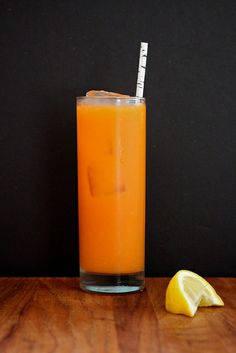 Carrot orange ginger bourbon