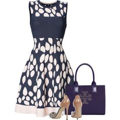 A fashion look from August 2014 featuring Issa dresses, Gianvito Rossi pumps and Tory Burch tote bags. Browse and shop related looks.