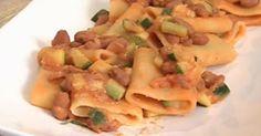 Cuochi per caso...o per forza!!: Paccheri borlotti e zucchine da Cotto e Mangiato