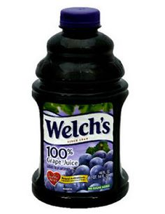 Stomach Bug Prevention Trick - One BIG rule is that it MUST be 100% grape juice. One glass a day for kids but when bug is going around up it to 2 glasses a day, adults add a tsp of apple cider vinegar