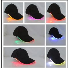 7c5a9a59 Sports Clubs, Cheap Baseball Caps, Baseball Hats, Light Up Hats, Party  Lights