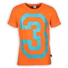 Kinderkleding Oranje Trendy molo Jongens shirt | www.kienk.nl