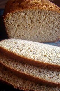 Paleo Grain-Free Sandwich Bread - a sandwich favorite cup coconut flour cup crispy almond flour cup (one stick) plus 2 Tb butter 8 eggs, preferably from pastured hens 1 Tb mild-flavored honey tsp apple cider vinegar tsp celtic sea salt tsp baking soda Lowest Carb Bread Recipe, Low Carb Bread, Keto Bread, Low Carb Keto, Banting Bread, Carb Free Bread, Bread Baking, Ketogenic Recipes, Diabetic Recipes
