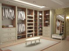 Практичный вариант для хранения одежды, обуви и различной мелочи - это гардеробный шкаф. Он имеет корпусную конструкцию, позволяющую максимально удобно раскладывать и хранить свои вещи. Со вкусом выполненная отделка гардеробного шкафа и светло-бежевая цветовая гамма не оставят равнодушными любителей изысканных интерьеров.